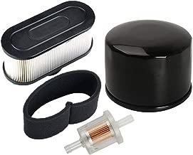 HIFROM Replace Fuel Filter Oil Filter with Air Pre Filter for Kawasaki FR651V FR691V FR730V FS481V FS541V FS600V FS651V FS691V FS730V 4-Cycle Engine (1 Set)