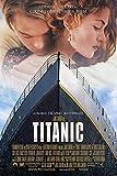 Filmposter Titanic 1 – Beste Druckkunst, Reproduktion, Qualität, Wanddekoration, Geschenk, A2-Poster (61/41,9 cm) – (59/42 cm) – Hochglanz-Fotopapier