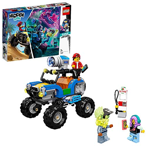 LEGO Hidden Side 70428 Jack's Beach Buggy Toy, AR Games App, Interactive Multiplayer Augmented Reality Playset for iPhone/Android