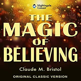 The Magic of Believing audiobook cover art