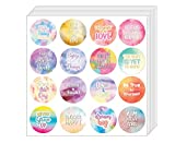 Creanoso Affirmation Stickers - Positive Encouragement (5-Sheet) - Stocking Stuffers Premium Quality Gift Ideas for Children, Teens, & Adults - Corporate Giveaways & Party Favors