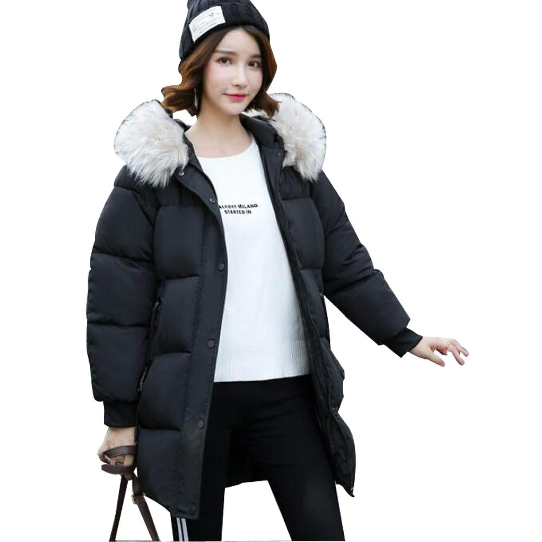 YULUO レディース ダウンコート ダウンジャケットロングコート 冬 大きいサイズ 中綿レディース ファッション コート