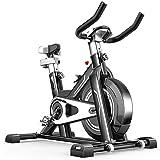 Bicicleta de spinning Cubierta del pedal de bicicleta de ejercicios aparatos de ejercicios de bicicleta de ejercicios puede estar en la cresta de interior ultra silencioso apropiados for uso en gimnas