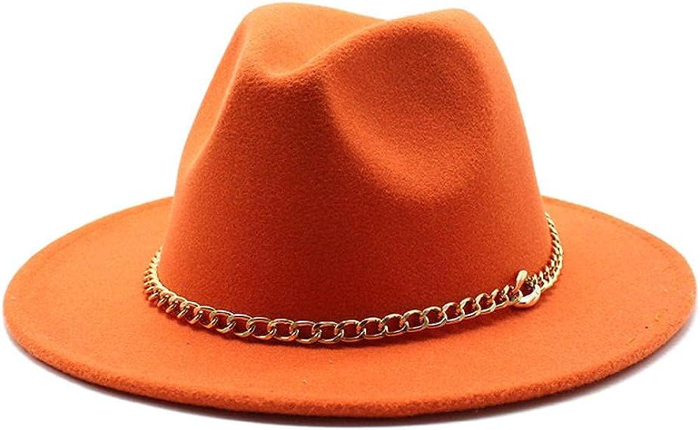 Women's and Men's Minneapolis Mall Classic Wide Brim Wool Hat Fedora Panama Jazz Weekly update