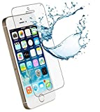 [2er Pack] Panzerglas für Apple iPhone 5 / 5S / 5C / SE gehärtetes Glas 9H, Echtglas Glasfolie Panzerglasfolie Panzerfolie Folie Bildschirmschutz von Smartphone-Equipment