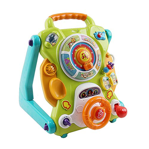 Buy Bargain Fine Baby Walker, 3 in 1 Sit-to-Stand Learning Walker and Activity Center Entertainment ...