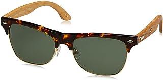 HÄRVIST - Clubmix Gafas de sol, Carey/Bambú natural, 57 Unisex