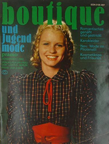 Pramo Sonderheft Boutique und Jugendmode 1983