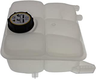 Coolant Reservoir Expansion Tank compatible with Ford Focus 12-16 Overflow Reservoir Non-Turbo Eng w/Cap Plastic