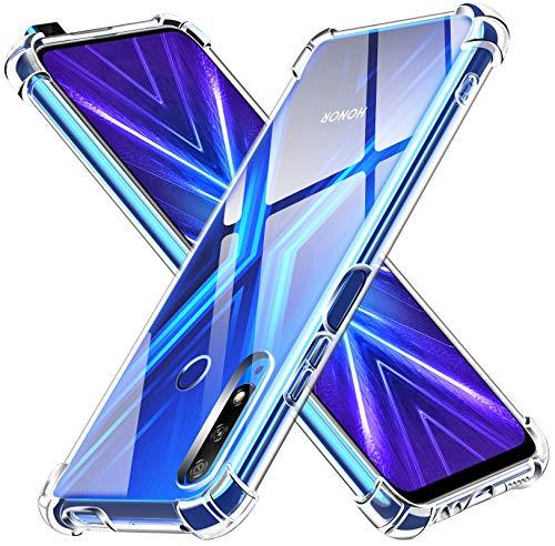 ivoler Klar Silikon Hülle für Huawei P Smart Z/Honor 9X mit Stoßfest Schutzecken, Ultra Dünne Weiche Transparent Schutzhülle Flexible TPU Durchsichtige Handyhülle Kratzfest Hülle Cover