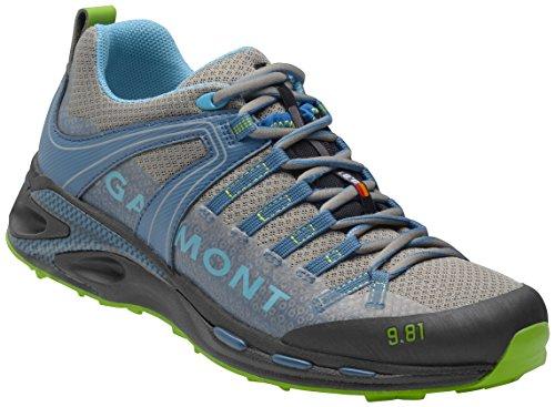 Garmont 9.81 Speed III Chaussures de randonnée pour homme, couleur bleu clair, fond Vibram (47,5)