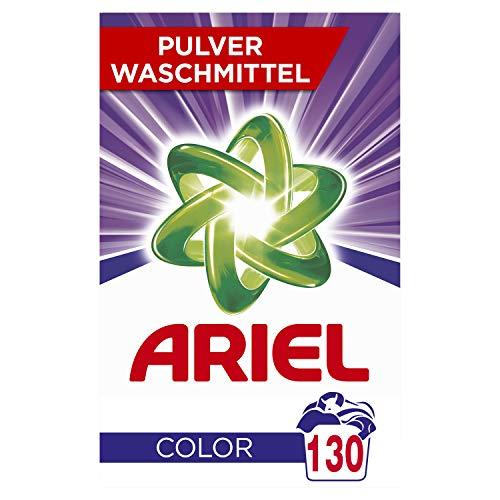 Ariel Colorwaschmittel Pulver 8kg, 1er Pack (1 x 130 Waschladungen)