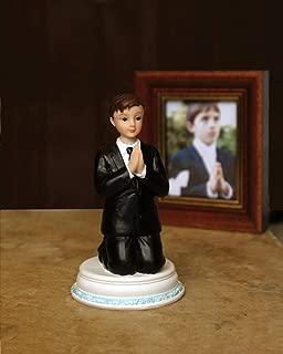 First Communion Praying Child Keepsake Figurine, 4 1/2 Inch (Boy)