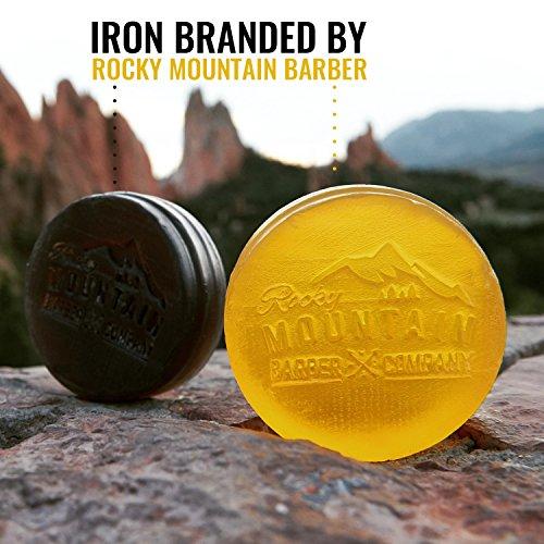 Savon pour Homme 100% Naturel Épice de Cèdre et Birchwood Rocky Mountain Barber Company - 5