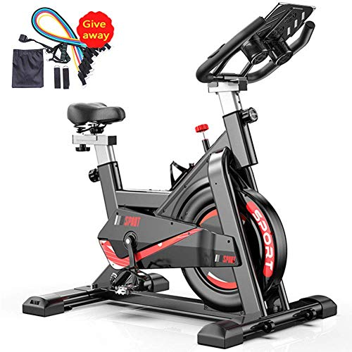 LIUCHANG Cardio Indoor Cycling Bike Spinning-Fahrrad-Ultra-Quiet Fitness-Bike und Bauchtrainer mit Low-Noise-Riemenantriebssystem Home Gym Fahrradsport Fitnessgeräten liuchang20