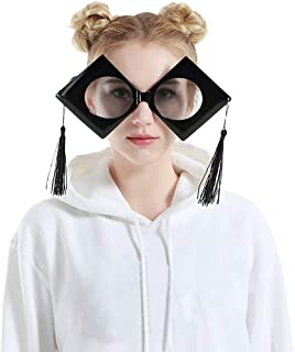 cec457503c Ugood Glasses Funny Crazy Fancy Dress Glasses Novelty Costume Party  Sunglasses Accessories Dress (Color-