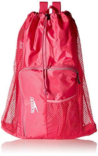 Speedo Unisex-Adult Deluxe Ventilator Mesh Equipment Bag Fuchsia Purple, One Size