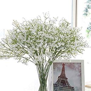 Artificial Gypsophila Silk Flowers Baby Breath Bouquet Fake Flower Home Decor