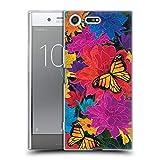 Head Case Designs Officiel Suzan Lind Fleur Papillons Coque en Gel Doux Compatible avec Sony Xperia...