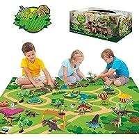 Sinceroduct 47.2 x 31.5 inch Dinosaur Toys Activity Play Mat