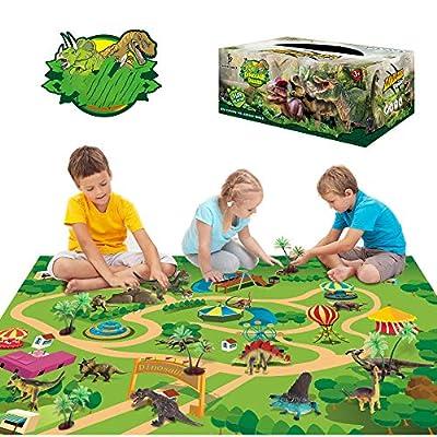 Sinceroduct Dinosaur Toys Activity Play Mat