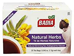 professional Badia natural herbal tea. A total of 100 tea bags.