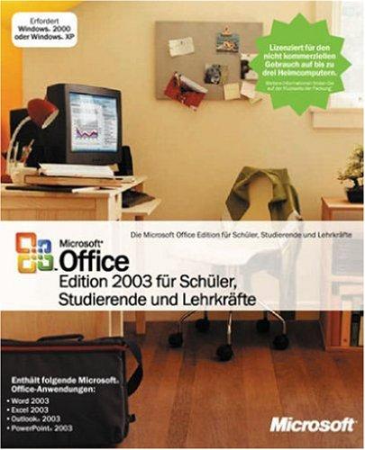 Microsoft Office 2003 SSL - Schüler, Studenten und Lehrer [import allemand]