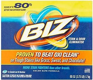 Biz Stain & Odor Eliminator, 60 oz - 2 Pack