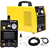 Iglobalbuy DC Inverter 50A Air Inverter Plasma Cutter Automatic Dual Voltage 110/220VAC 1/2' Clean Cut with Digital LED Display (CUT 50) Portable