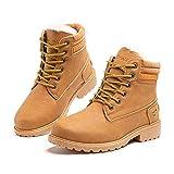 Botas Invierno Mujer Cálidos Forradas Zapatos de Invierno Clásicas Moda Botas de Nieve Antideslizantes con Cordones...