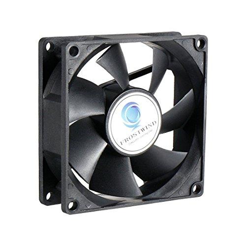 uxcell yy8025h24b DC 24V 0,14A 80x 80x 25mm ventilador silencioso de refrigeración ventilador para ordenador casos