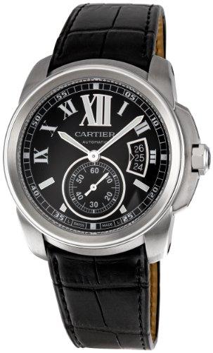 CARTIER Reloj DE Hombre AUTOMÁTICO 43MM Correa DE Piel DE Ternero W7100041