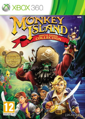 [UK-Import]Monkey Island Special Edition Collection Game XBOX 360