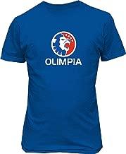 Soft-T Male's Olimpia Honduras Soccer Football Custom T Shirts
