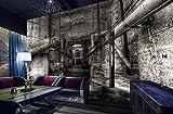 Papel Pintado 3D Pasaje Industrial Nostalgia Retro Fotomurale 3D Tv Telón De Fondo Pared Decorativos Murales