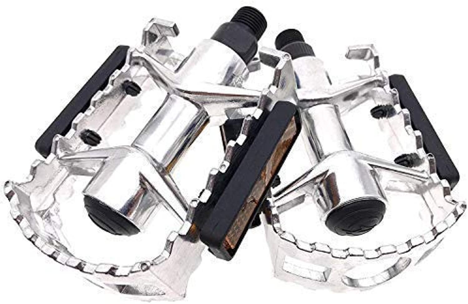 ARTHEALTH Bicycle Pedals Bike Pedals 9 16  Inch Folding Bicycle Pedals Mountain Bikes Road Bicycles Platform Pedals MTB Pedals (Black)