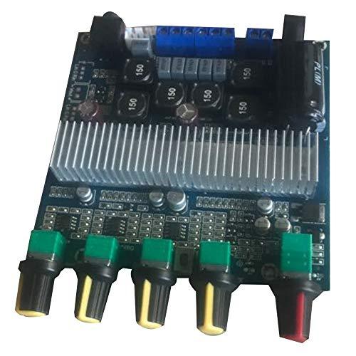 DIDILI Ensamble el Amplificador de Potencia Digital HiFi para TPA3116D2 2.1 Tablero de Alta Potencia 12-24V Subwoofer Bass Board
