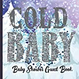 Guestbook: Gorgeous Themed Winter Baby Shower Guest Book PLUS Gift Tracker Plus Picture Memory Photobooth Section (Winter/Xmas/Christmas Baby Shower Guest Books)
