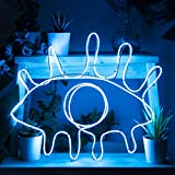 Fizz Creations Make Your Own Neon Effect Sign 3M Neon String Light Message Kit (Blue)