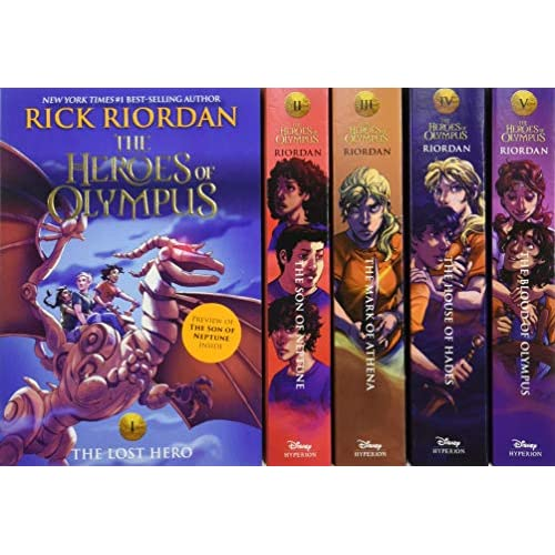 The Heroes of Olympus: The Lost Hero / the Son of Neptune / the Mark of Athena / the House of Hades / the Blood of Olympus