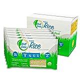 WELL LEAN Organic Rice, Premium Shirataki Konjac, USDA Organic, 100 % Plant Based, Keto Friendly, Zero Net Carb, Non GMO, Ready to Eat, Low Calorie, Gluten Free, Vegan, Diet, 6 Pack, 57.1 oz