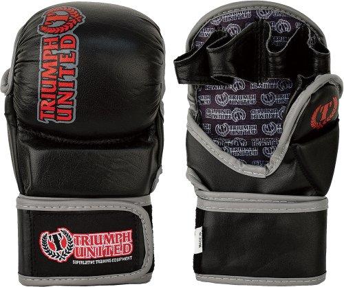 Triumph United MMA Training Handschuh, 23001BLKXL, Schwarz, XL