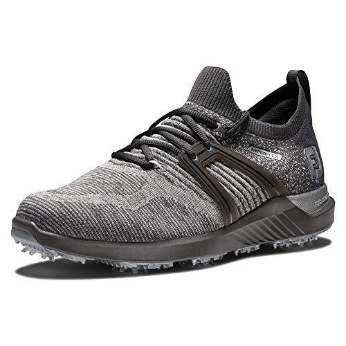 FootJoy Men's Hyperflex Golf Shoe, Charcoal/Grey, 7
