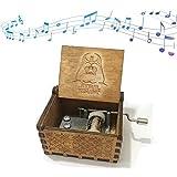 Reine Hand-klassischen Premier Spieluhr,Funmo Star Wars MusikBox Gravur aus Holz Dekorative Box...