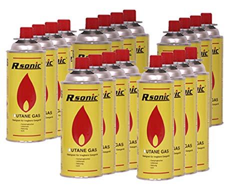 RSonic - 20 cartucce di Gas MSF-1A, 227 g (400 ml) per fornello a Gas da Campeggio
