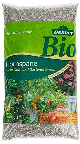 Dehner 682385 Bio Hornspäne, für Balkon- und Gartenpflanzen, mit Langzeitwirkung, 10 kg, für ca. 100 qm