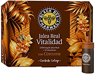 Black Bee Black Bee Pharmacy - Jalea Real Vitalidad Con Cúrcuma 200 ml