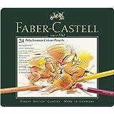 ファーバーカステル ポリクロモス色鉛筆 24色 缶入110024 [日本正規品]