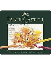 Faber-Castell Polychromos Kuru Boya Kalemi, 24 Renk