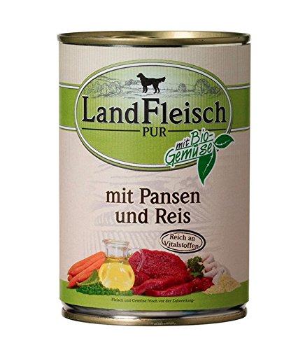 Landfleisch Pur 400g Pansen & Reis